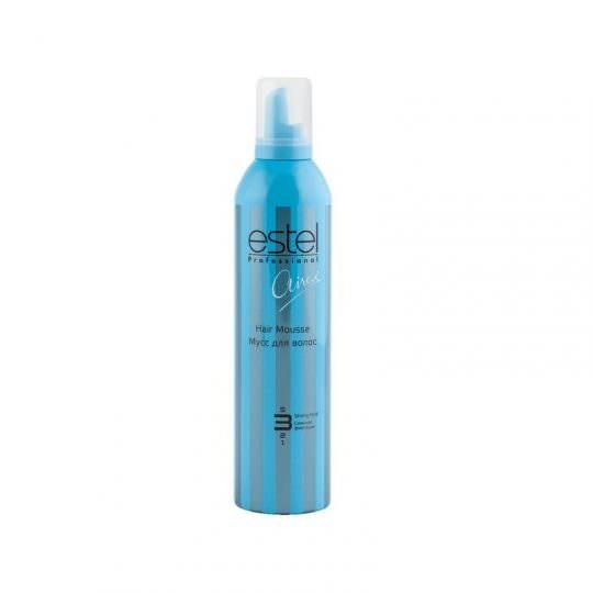 Мусс для волос ESTEL AIREX сильная фиксация, 400 мл