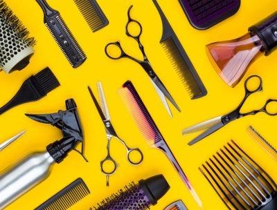 Инструменты для парикмахера